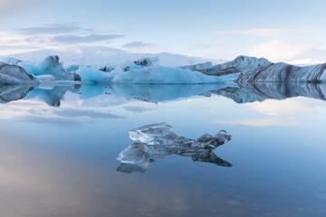 Jokulsarlon glacier lagoon, East Iceland, Iceland.