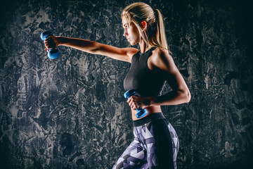 fitness woman training