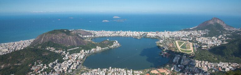 Views from the Christ, Rio de Janeiro, Brazil