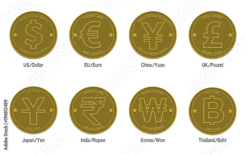 Symbol Of Thailand Currency Images Symbol Text Art