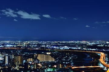 五月山から見る夜景