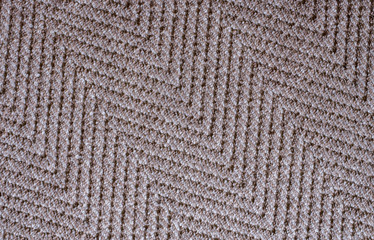 Brown light fabric carpet texture background in the living room,Close up
