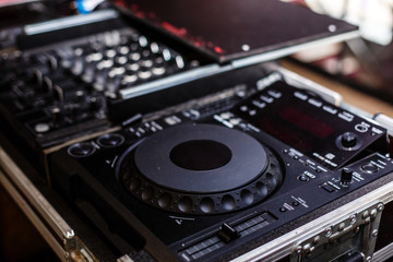 Dj audio mixer controller