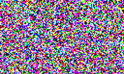 TV pixel noise of analog channel grain screen seamless