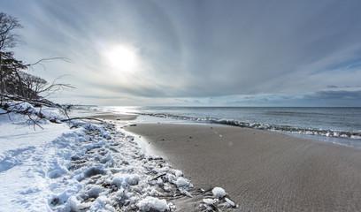 vereister strand