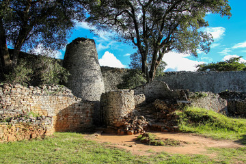 The Great Zimbabwe ruins outside Mavingo in Zimbabwe