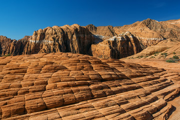 Snow canyon State Park in Utah, USA