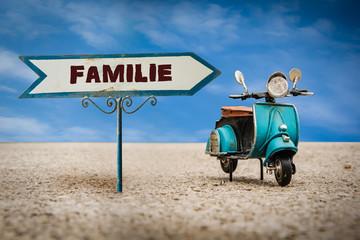 Schild 305 - Familie