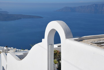 Architecture in Santorini