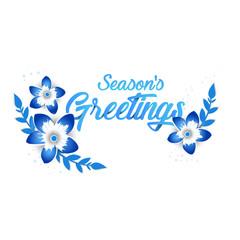 Season's greeting template, beautiful origami