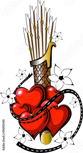 Valentine tattoo 1