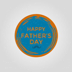 Happy Father's Day sale. Vector illustration for promotion, poster, flyer, discount card,