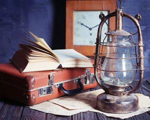 vintage travel still life