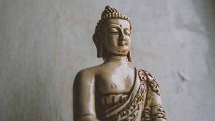 a symbol of Buddhism. Buddha statue