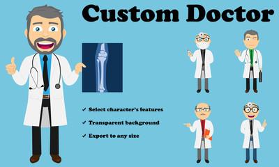 Custom Doctor (Lab coat)