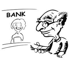 Okienko bankowe