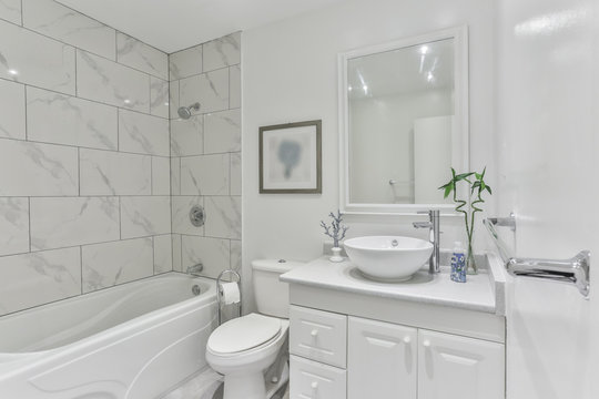 Bathroom modern Interior