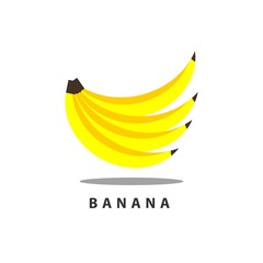 Banana Vector Template Design