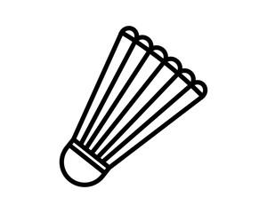 shuttlecock icon sport sport equipment tool utensil image vector