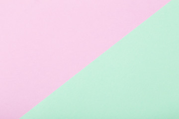 pink and green paper background