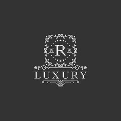 Crests logo,Hotel logo, luxury letter monogram vector logo design, Fashion brand identity,Vector logo template