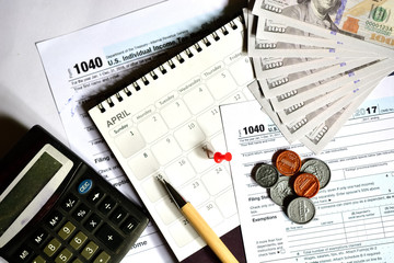 Tax day for 2017. Returns is April 17, 2018
