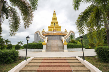 Beautiful temple at Nong Bua Lamphu Province, Thailand