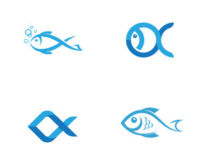 Fish Icon vector illustration