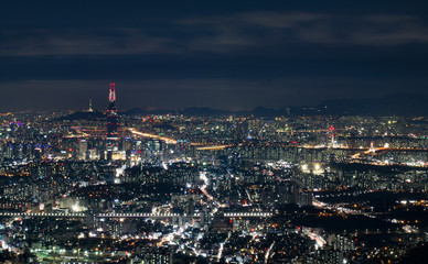 Nightscape of Seoul