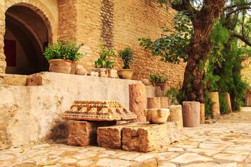 Fortress Kasbah  in Hammamet, North Africa.