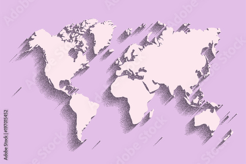 World map vector color background with shadow stock image and world map vector color background with shadow gumiabroncs Choice Image