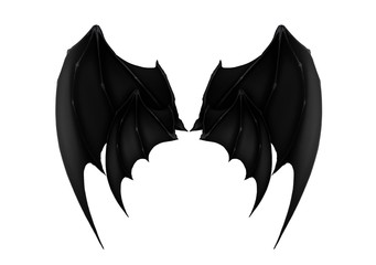 black dark demon wings 6 vampire bat