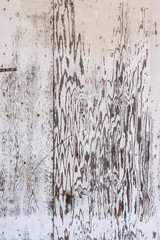 old white washed plywood board for background texture