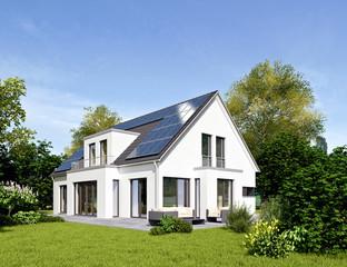 Einfamilienhaus 18 mit Solardach