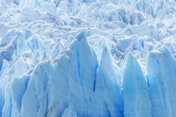 Detail of Perito Moreno Glacier in Argentina