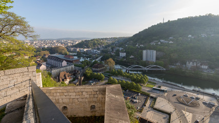 Besancon Fortifications in France. A World Heritage