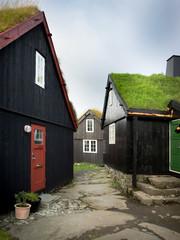 Tinganes y Reyn Altstadt von Torshavn - Färöer Inseln