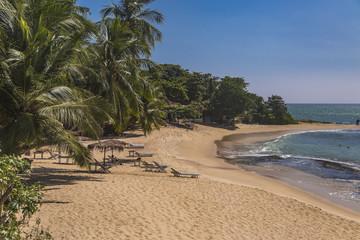 Beach at Matara, Sri Lanka