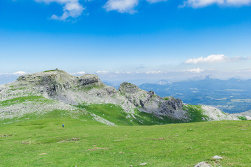 Mount Gorbea on a sunny day, Spain