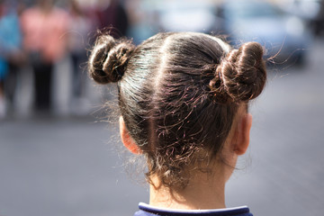 A nice hairstyle