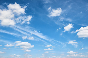 abstract background from bright blue sky with soft cloud at day