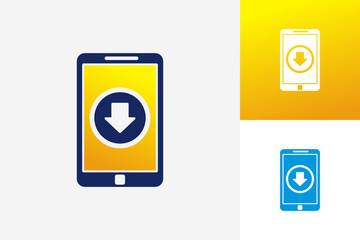 Download Phone Logo Template Design Vector, Emblem, Design Concept, Creative Symbol, Icon
