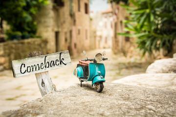 Schild 319 - Comeback