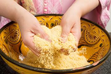 Cooking couscous