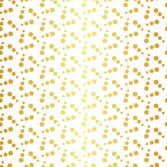 Geometric golden seamless pattern