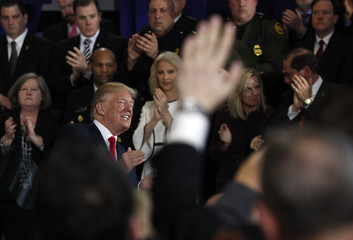 President Trump addresses the U.S. opioids crisis in Manchester, New Hampshire