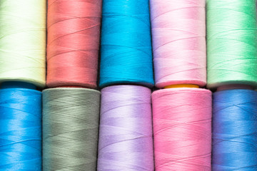 Colored thread background