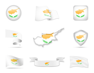 Cyprus Flags Collection