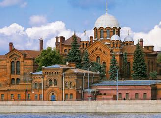 Kresty prison and church of Alexander Nevsky, Saint Petersburg