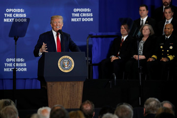 Trump visits New Hampshire to deliver remarks on U.S. opioids crisis